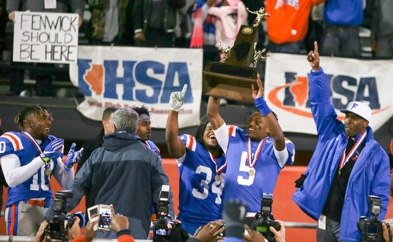 East St. Louis 7A IHSA Football Champions