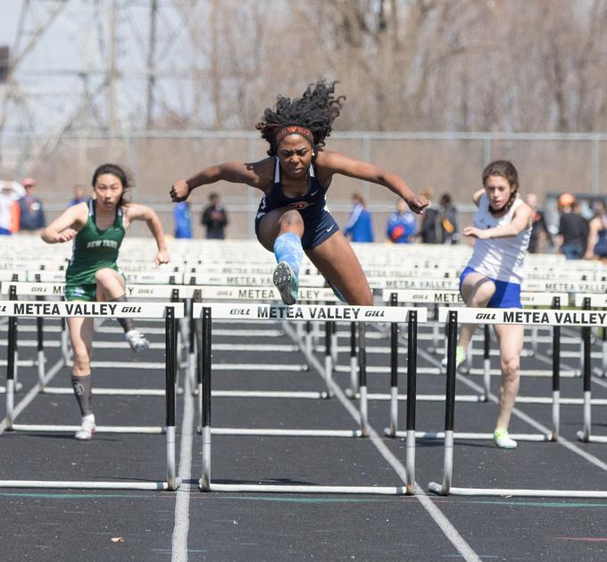 Metea Valley Girls Track Meet