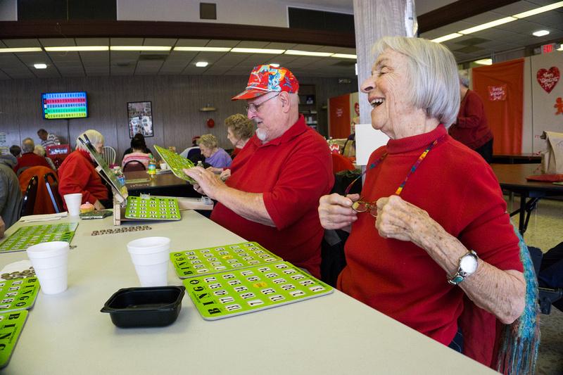 The Senior Services Associates Senior Center in Aurora