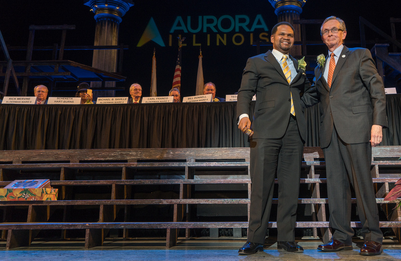 Aurora Mayor and Aldermanic Inauguration