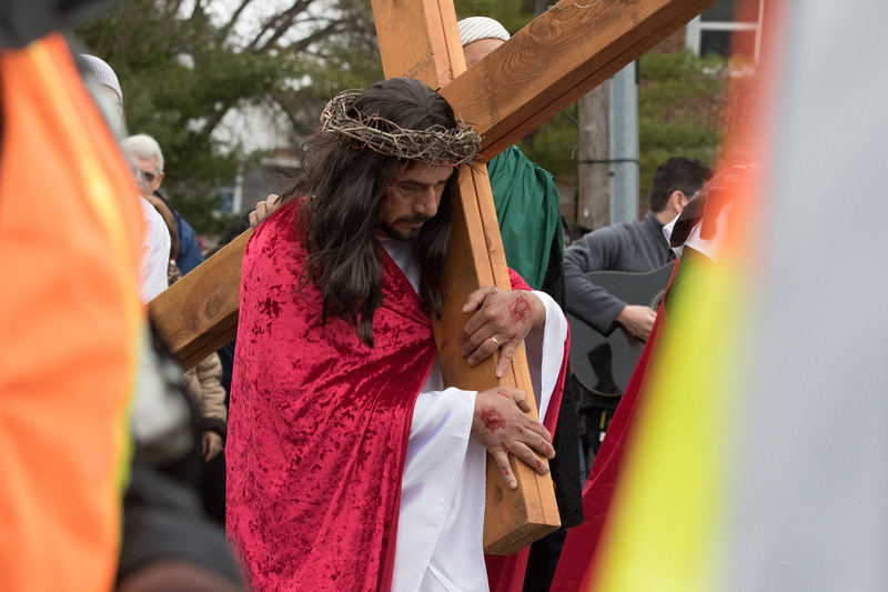 Walk of the Stations - Good Friday Aurora IL