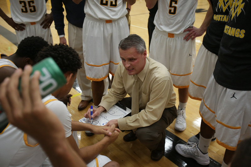 Metea Valley Boys Basketball Coach Bob Vozza