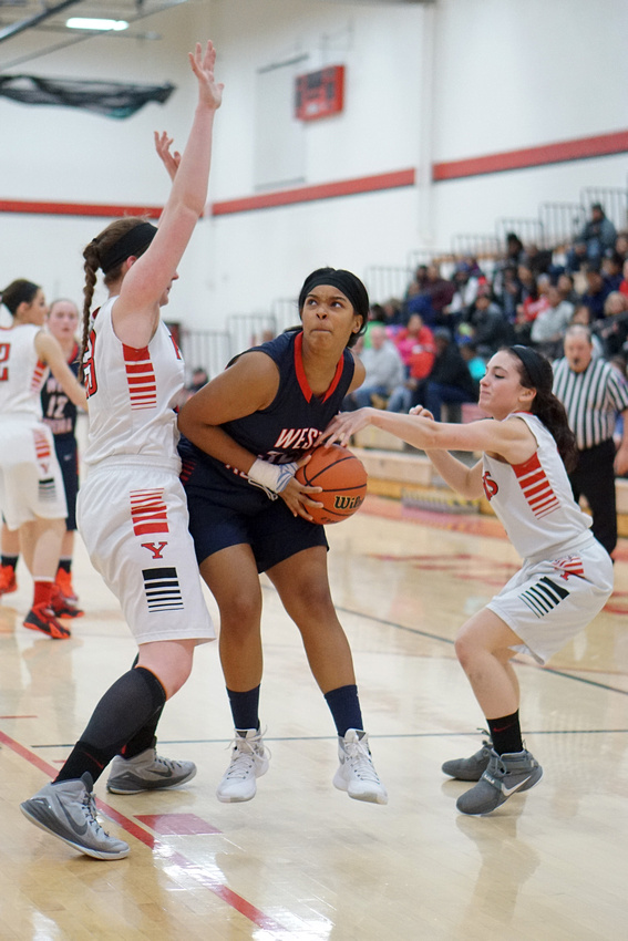 West Aurora vs Yorkville Girls Basketball