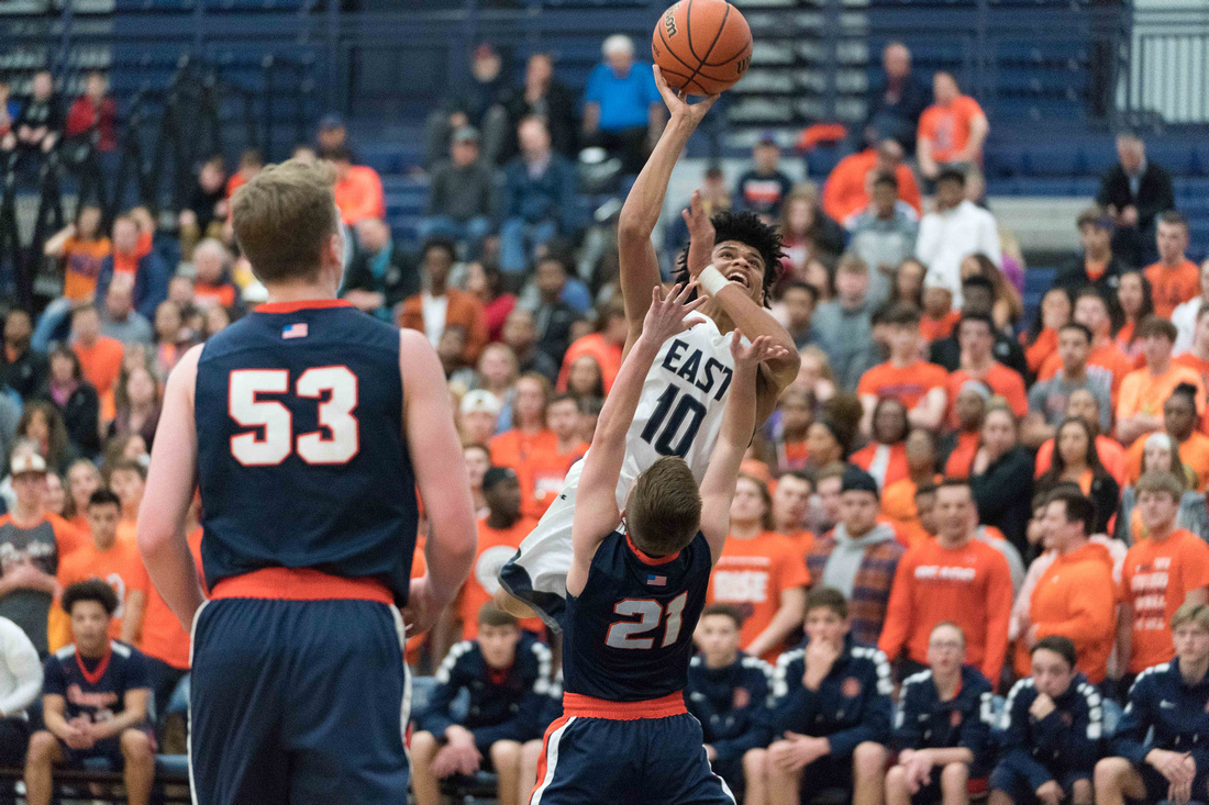 Oswego Vs Oswego East Boys Basketball